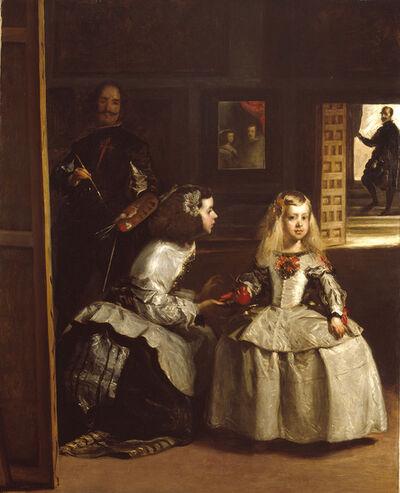John Phillip, 'Partial copy of 'Las Meninas'', 1862