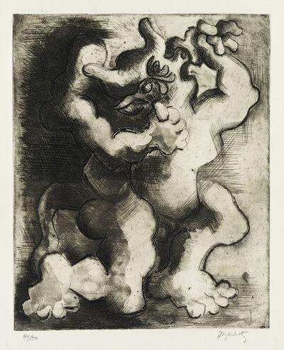 Jacques Lipchitz, 'Thesée et le Minotaure.', 1943-44