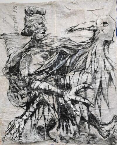 Ange-Arthur Koua, 'Titi sran kouati'm (Les héros de toujours)', 2020