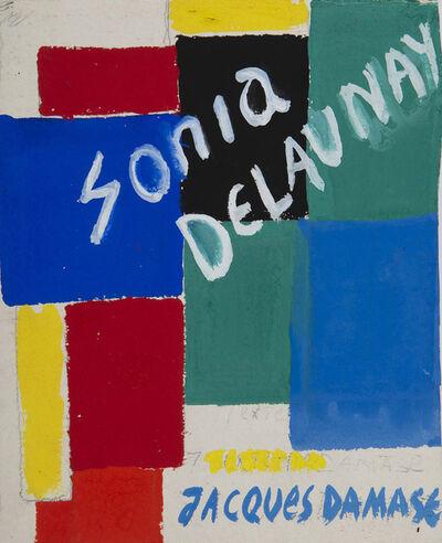 Sonia Delaunay, 'Projet de couverture', ca. 1969