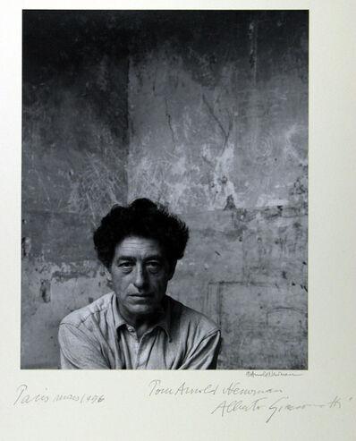 Arnold Newman, 'Alberto Giacometti, Paris', 1954
