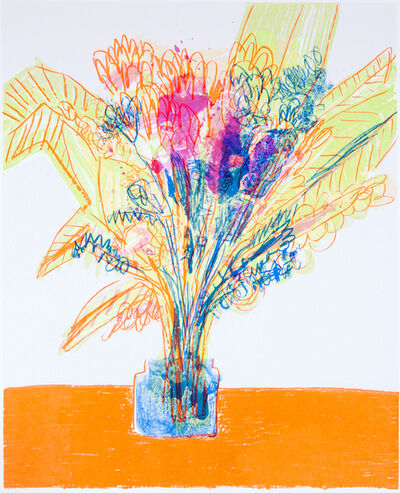 Georgina Gratrix, 'Flowers for I.G.'