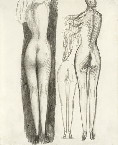Alfons Walde, 'Nudes from the Back', ca. 1920