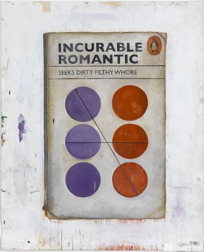Harland Miller, 'Incurable Romantic Seeks Dirty Filthy Whore', 2010