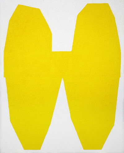 Michael Wall, 'Yellow on White I', 2017