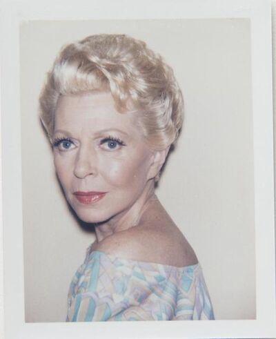 Andy Warhol, 'Andy Warhol, Polaroid Photograph of Lana Turner, 1985', 1985
