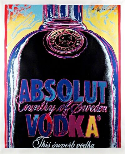 Andy Warhol, 'ABSOLUT (Limited Edition of 50)', 1985