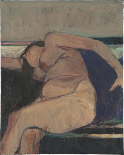 Richard Diebenkorn, 'Reclining Nude – Pink Stripe', 1962