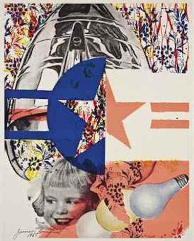 James Rosenquist, 'F-111(Leo Castelli Gallery Poster)', 1965