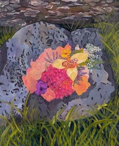 Anna Valdez, 'Flowers on Rock ', 2015