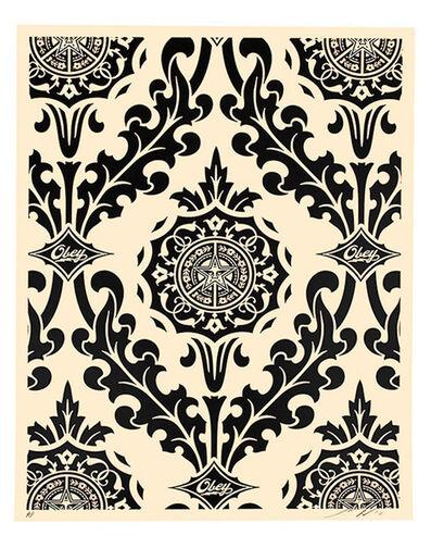 Shepard Fairey (OBEY), 'PARLOR PRINT (Artist Proof Black & Cream)', 2010