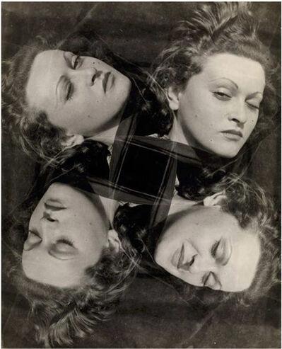 Erwin Blumenfeld, 'Marina, Four Expressions', ca. 1937