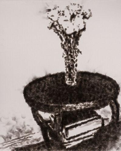 Jiří Georg Dokoupil, 'Flores Sobre Una Mesa', 1989