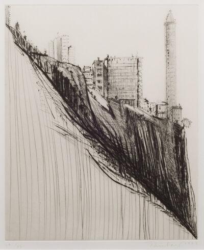 Wayne Thiebaud, 'Marina Ridge', 1997