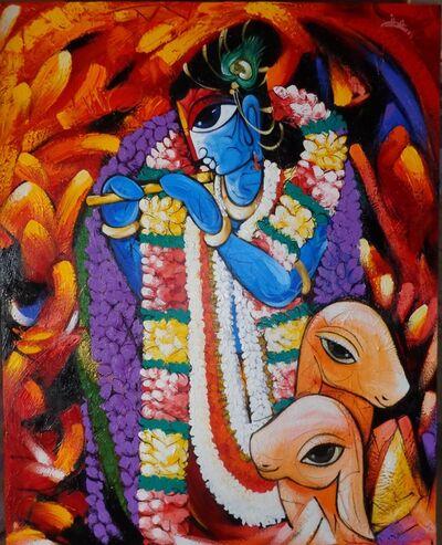 Sachindra Nath Jha, 'Krishna Deva', 2012