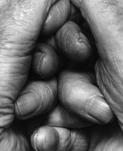 John Coplans, 'Interlocking Fingers, No. 18', 2000