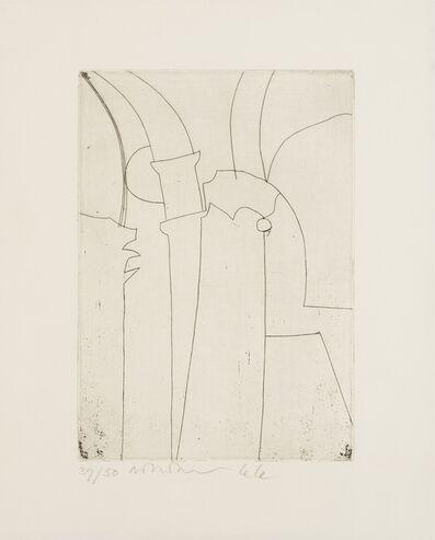 Ben Nicholson, 'Urbino III (Lanfranca 1; Cristea 39)', 1965-66