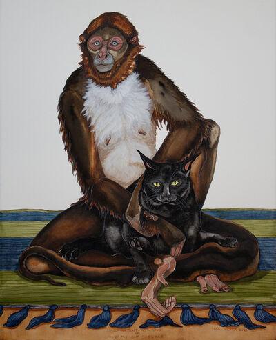 Tara Tucker, 'Self portrait as a Monkey Or, How my Cat sees me,', 2021