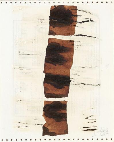 Yang Jiechang 杨诘苍, 'Soy Sauce Drawings 11 酱油画 11', 1988