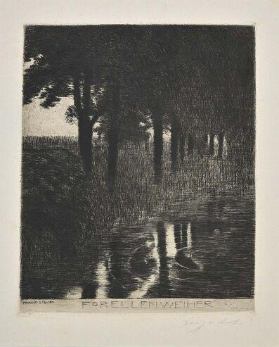 Franz von Stuck, 'Forellenweiher ', 1890s