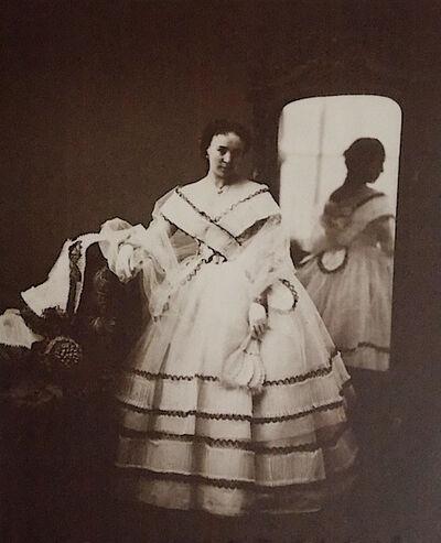 Pierre-Louis Pierson, 'Mlle. Nicolas with Mirror', 1857/1930s