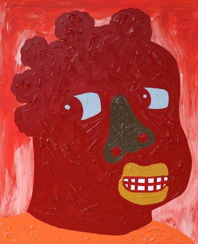 Isshaq Ismail, 'Red Face 3', 2020