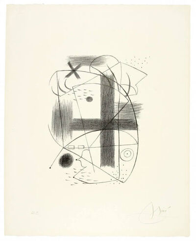 Joan Miró, 'Lithographie II', 1930