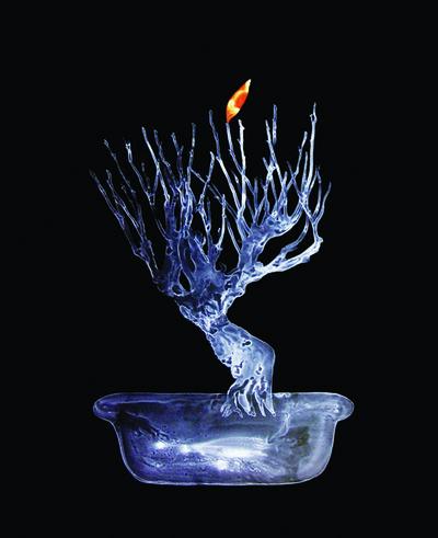 Neha Choksi, 'Lone Orange', 2008