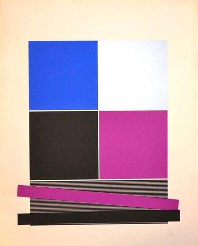 Jesús Rafael Soto, 'Untitled - (Black And Silver)', 1970s