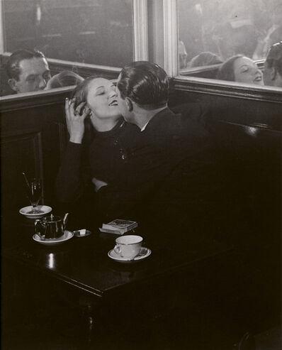 Brassaï, 'Couple d'Amoureux dans un Petit Café, Quartier Italie', 1932
