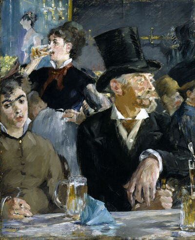 Édouard Manet, 'At the Café', ca. 1879