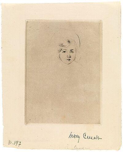 Mary Cassatt, 'Sara's Head', ca. 1904
