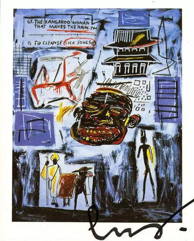 "Jean-Michel Basquiat, '""Kangaroo Woman/Sick Souls [Untitled]""', 1986"