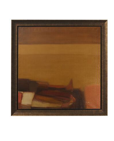 """Helen Khal, 'Untitled (""""Ochre over Brown"""")', 1968"""