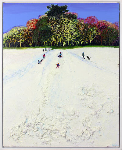 Simon McWilliams, 'Sleigh Tracks II', 2019