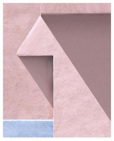 George Byrne, 'Peach Wall With Purple', 2017