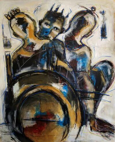 Casimir Bationo, 'L'homme Au Fauteuil', 2019