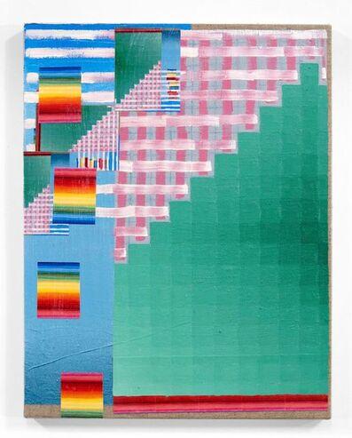 Todd Kelly, 'Green Rainbow 4', 2020