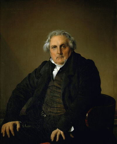 Jean-Auguste-Dominique Ingres, 'Louis Francois Bertin, Publisher', 1832