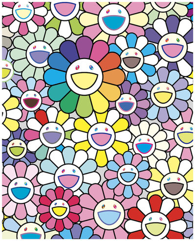 Takashi Murakami, 'Flowers of Hope', 2020