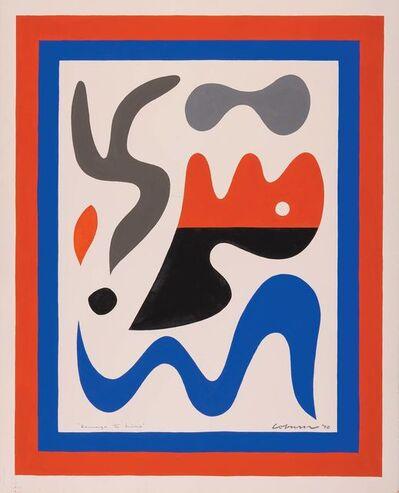 John Coburn, 'Homage to Miro', 1970