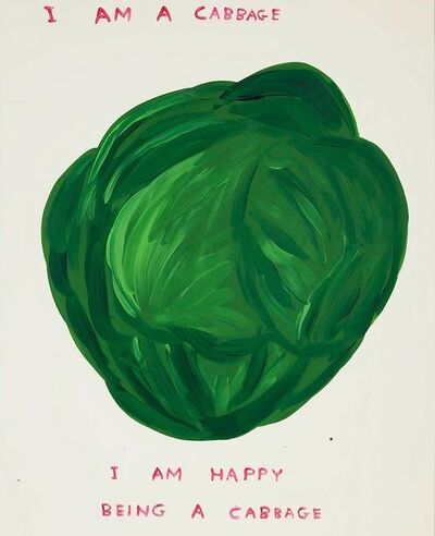 David Shrigley, 'Untitled (I Am a Cabbage)', 2020