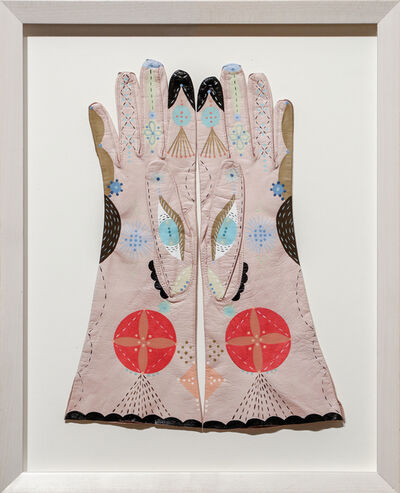 Bunnie Reiss, 'Cosmic Animal Gloves VII', 2017