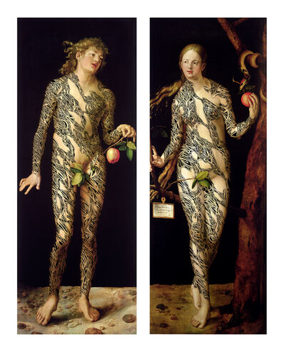 Jean-Luc Moerman, 'Tattoo on Adam et Eve '