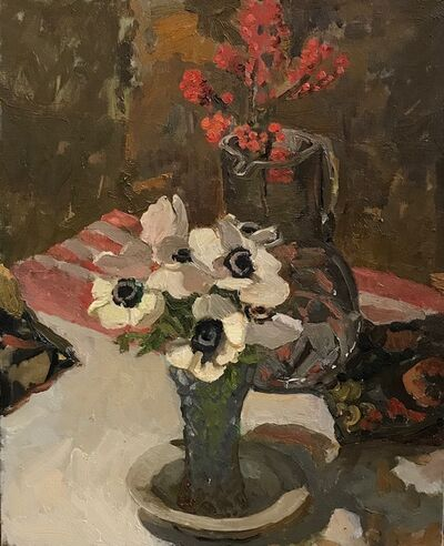 Kelly Carmody, 'Anemones and Berries', 2020