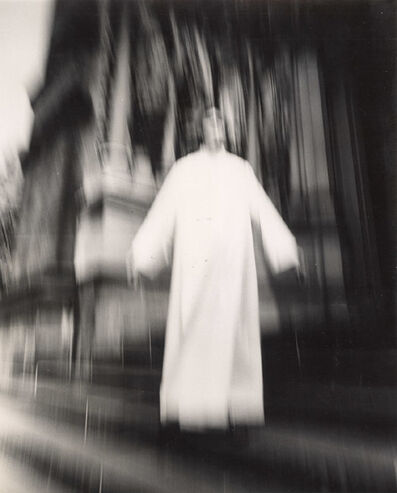 Arthur Tress, 'A Priest at St. John the Divine Seems to Be Flying, New York, NY', 1974/1974