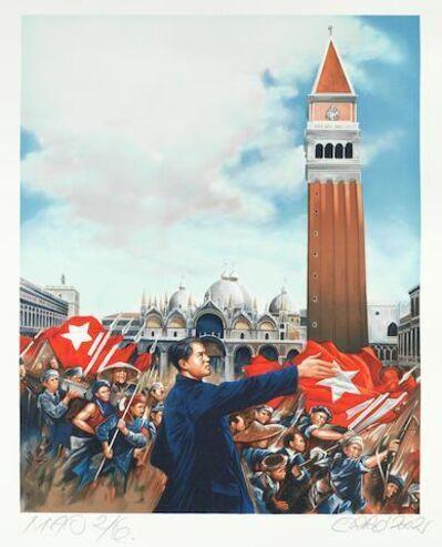 Erró, 'L'ultima visita di Mao a Venetia', 2002