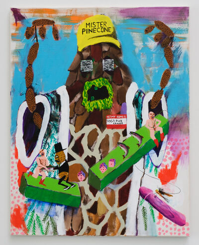 Huey Crowley, 'Mister Pinecone #4', 2019