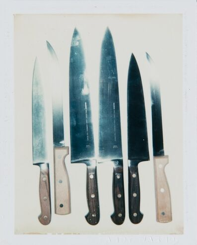 Andy Warhol, 'Andy Warhol, Polaroid Photograph of Knives', ca. 1981