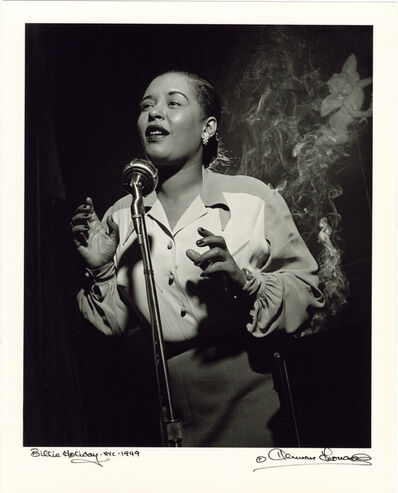 Herman Leonard, 'Billie Holiday, New York, 1949', 1949